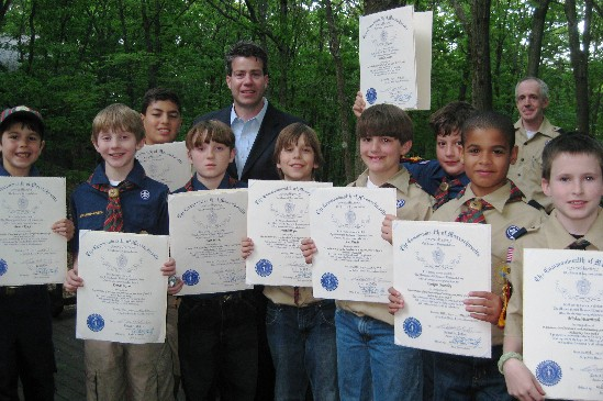 Scouts Win High Honor The Arrow Of Light Mytownmatters