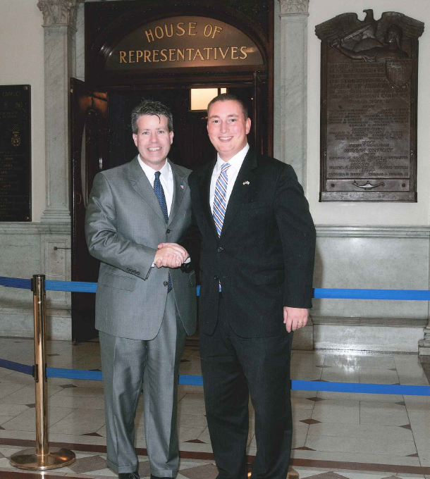 Representatives Walter Timilty and Dan Cullinane