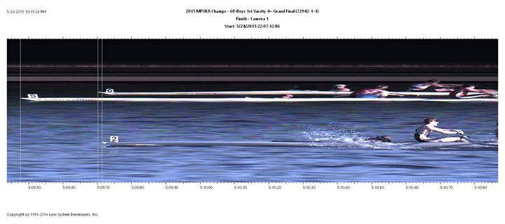 2015 boys 4+ photo finish